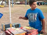 Books were provided by author Jeanne McNaney, Barnes & Noble Chandler, and Actionopolis. © Denise Gary