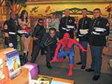Superheroes and United States heroes! © Denise Gary