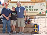 KNTR Chairman James Blasingame, Executive Director Denise Gary, and Founder PJ Haarsma